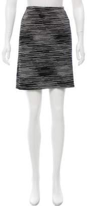 Missoni Intarsia Knit A-Line Skirt