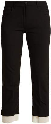 Ann Demeulemeester Cropped wool trousers