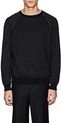 Barneys New York Men's Cotton-Cashmere Crewneck Sweater