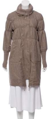 Brunello Cucinelli Knee-Length Puffer Coat