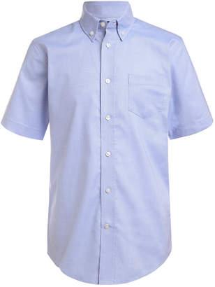 Nautica (ノーティカ) - Nautica Little Boys Stretch Blue Oxford Shirt