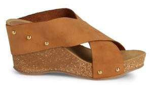 Carvela Sooty Studded Wedged Sandals