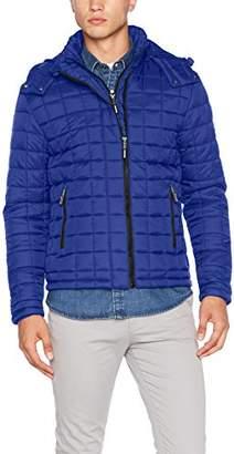 Superdry Men's Box Quilt Fuji Hooded Sports Jacket