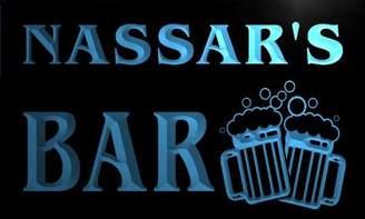 AdvPro Name w011379-b NASSAR Name Home Bar Pub Beer Mugs Cheers Neon Light Sign