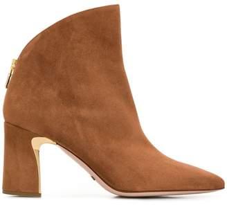 Sebastian asymmetric ankle boots