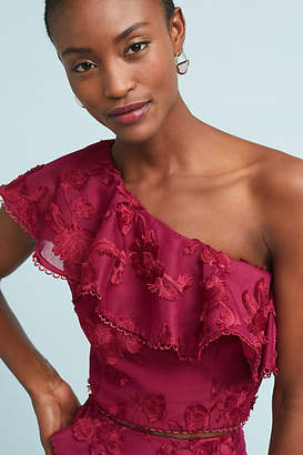 Keepsake Ruffled One-Shoulder Top