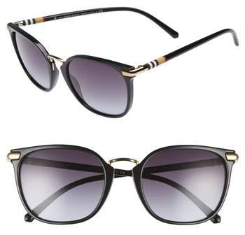 Burberry 53mm Gradient Square Sunglasses