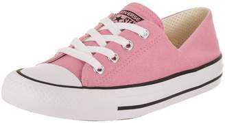 Converse Chuck Taylor All Star Coral Ox Light/Orchid/White/Black Casual Shoe 7.5 Women US