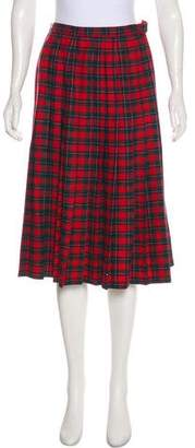 Pendleton Wool Check Skirt