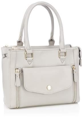 At Debenhams Principles Grey Multi Compartment Grab Bag