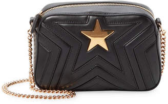 Stella McCartney Mini Quilted Star Camera Bag