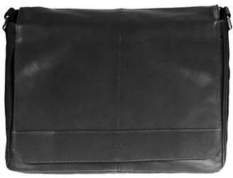 MANCINI Leather Messenger Bag