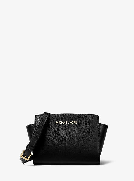 MICHAEL Michael Kors Michael Kors Selma Mini Saffiano Leather Crossbody