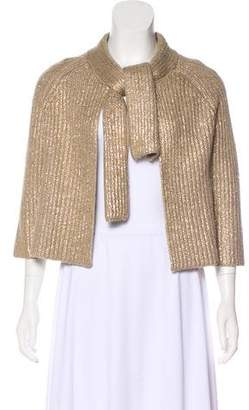 Cacharel Wool Metallic Cardigan