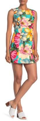 Milly Alexa Floral Print Shift Dress