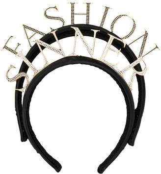 Dolce & Gabbana 'fashion sinner' headband