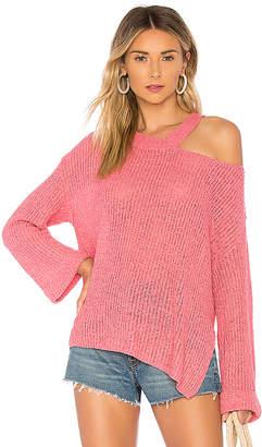 Majorelle Shoulder Cut Out Sweater