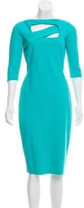 Chiara Boni Bodycon Cutout Dress