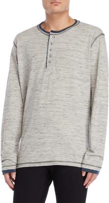 Heritage Grey Long Sleeve Henley