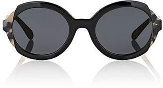 Prada Women's Round Sunglasses - Black