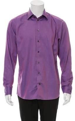 Eton Iridescent Jacquard Shirt