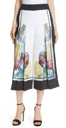 Ted Baker Tranquility Wide Leg Crop Pants