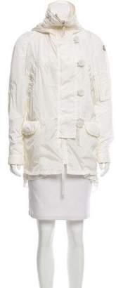 Moncler Hooded Lightweight Coat