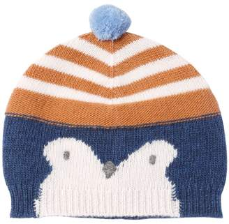 Il Gufo Penguin Intarsia Wool Knit Hat