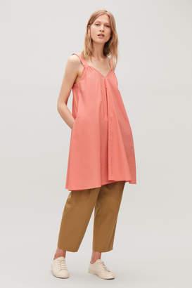 Cos STRAPPY POPLIN DRESS
