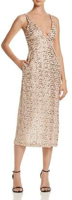 Jill Stuart Sequined Midi Dress