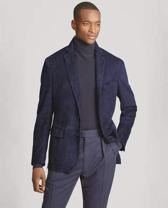 Ralph Lauren Suede Suit Jacket