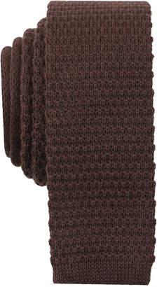 Bar III Men's Knit Skinny Tie, Created for Macy's