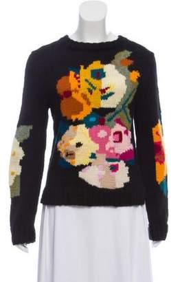 Smythe x Augden Intarsia Knit Sweater