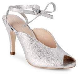 Loeffler Randall Mila Ankle Wrap Leather Sandals