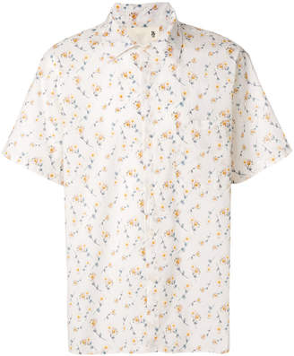 R 13 floral print short sleeve shirt
