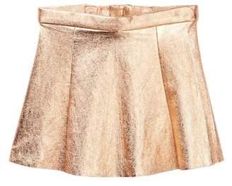 Kate Spade metallic skirt (Toddler & Little Girls)