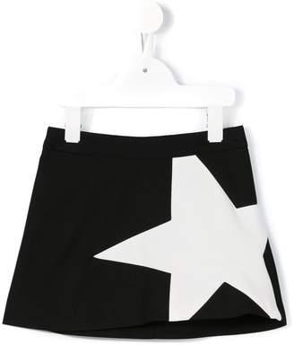 MSGM Kids star print mini skirt