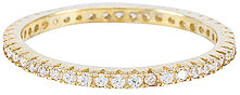The M Jewelers NY The M Essential Pave Band