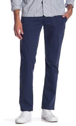"""Original Penguin Mini Plaid Slim Fit Pants - 32\"""" Inseam"""