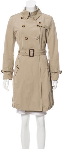 MonclerMoncler Double-Breasted Trench Coat