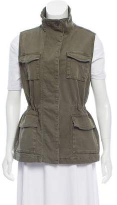 J Brand Button-Up Utility Vest