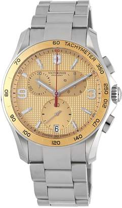 Victorinox Women's Stainless Steel Chronograph Water-Resistant Bracelet Watch
