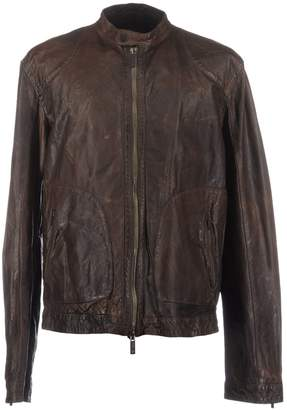 Armani Jeans Leather outerwear