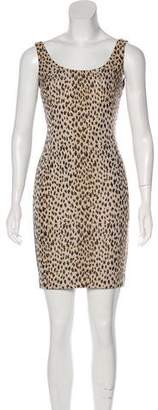 Diane von Furstenberg Ariana Sleeveless Printed Jacquard Dress