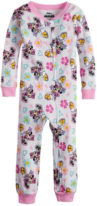Disney Disney's Minnie Mouse & Daisy Duck Baby Girl Coveralls