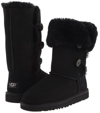UGG Kids Bailey Button Triplet (Little Kid/Big Kid) $144 thestylecure.com