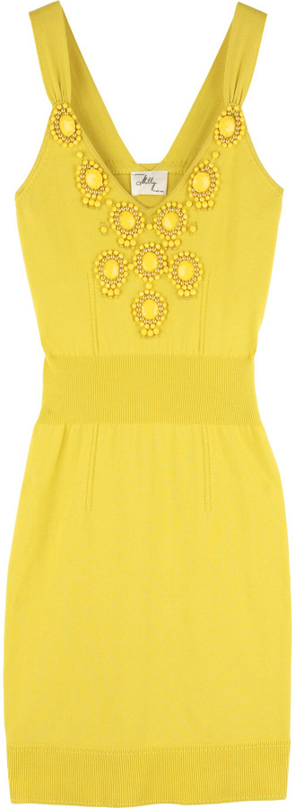 Milly Beaded tank dress