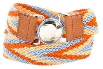 Missoni Woven Waist Belt w/ Tags