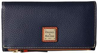 Dooney & Bourke Pebble Fold-Over Wallet