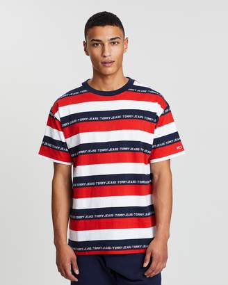 Tommy Jeans Branded Stripe Tee